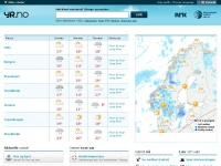 Yr.no - Yr - Weather forecasts for Norway and the world from the Norwegian Meteorological Institute and the NRK