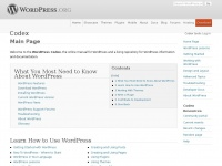 codex.wordpress.org wordpress word press using