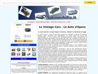 automobilia.it vintage epoca