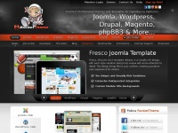 rockettheme.com joomla magento wordpress