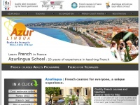 Learn French in France: Azurlingua French Riviera Language School