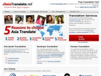 asiatranslate.net traduttore translate translation translator