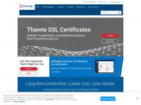 thawte.com ssl error certificate