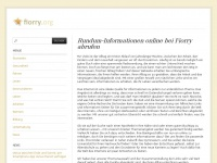 fiorry.org alter leben