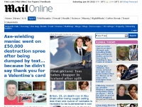 dailymail.co.uk daily videos pictures hand