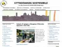 CITTADINANZA SOSTENIBILE | La rete di economia solidale della Bergamasca