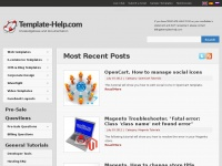 Template-help.com | Knowledgebase and documentation