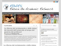 ROARS - Return On Academic ReSearch