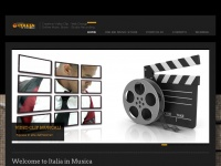 ITALIA IN MUSICA   OFFICIAL WEB SITE