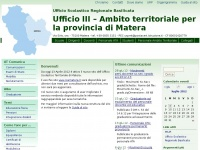 Ufficio III – Ambito territoriale per la provincia di Matera