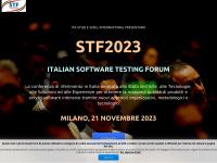 Software Testing Forum 2012 - La conferenza italiana sul test e qualità di SW e servizi