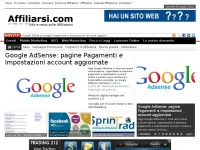 affiliarsi.com pay adsense adwords campagne landing