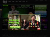 888 - Online Casino, Sports Betting & Poker Games