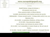 Europa dei Popoli - Movimento No Euro, No-TAV, di Maurizio Gasparello
