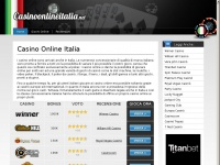 casinoonlineitalia.net casino gioco blackjack slot roulette machine baccarat keno casi