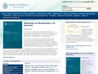 bancaditalia.it italiana sito attivita