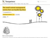 textpattern.com management content publish cms system