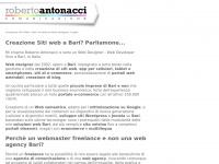robertoantonacci.com siti puglia designer creazione master