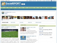 socialsport.net streaming partite diretta league