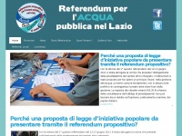 referendumacqualazio.it idrico integrato acqua