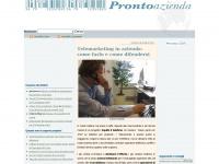 Pronto Azienda - Suggerimenti e consigli su crediti, investimenti, marketing e pubblicità