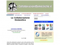 COLLABORAZIONI DOMESTICHE .IT - La Collaborazione Domestica