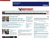 independent.co.uk first daily newspaper news