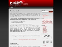 Blog Believe Italia