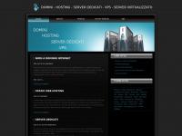 Hosting - Dominio - Spazio Web Hosting - Server dedicati - Vps - Server Virtualizzato