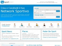 Be Sport - Managing Sports & Events