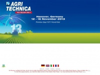 agritechnica.com
