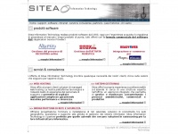 Sitea Information Technology - Software ASP, outsourcing sistemistico e consulenza gestionale.