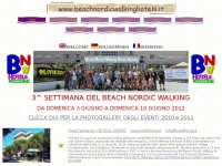 beachnordicwalkinghotels.it fiorina walking nordic hotelfiorina acquaparco