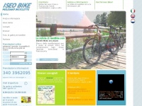 Noleggio bici a Iseo, capoluogo del Sebino -- Iseo Bike