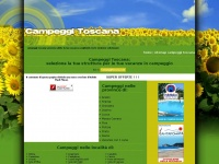 Campeggi Toscana, vacanze in campeggio Toscana