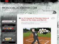 MondoBlackberry.com - Guide, Recensioni e News sul mondo BlackBerry