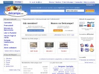 delcampe.net francobolli numismatica monete filatelia filateliche