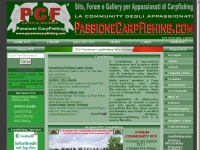 PCF Carpfishing - Passione Carpfishing PCF pesca carp fishing