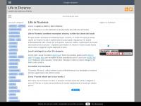 LifeInFlorence.it - Il nuovo sito dei locali a Firenze e dintorni