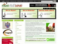 Italian Food Export | Benvenuto in Italian Food Export