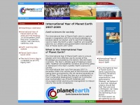 Yearofplanetearth.org - Planet Earth - Earth Sciences for Society