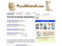 piccolianimali.com animali animale domestici