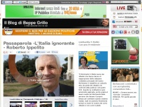 beppegrillo.it blog dal totale commenti