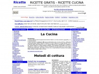 Ricette di cucina italiane e regionali tutte gratis
