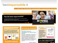 beviresponsabile.it alcol responsabile consumo