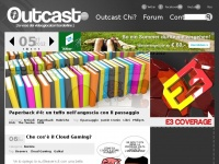outcast.it game aggiungi nintendo playstation