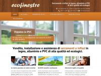 Ecofinestre.it - Ecofinestre  Serramenti e infissi in legno, alluminio e PVC di alta qualità ed ecologici.