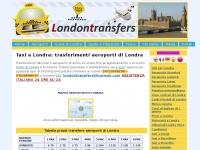 London Transfers:Taxi a Londra aeroporti Heathrow, Stansted, Luton, Gatwick