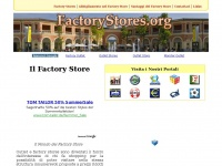 Factorystores.org - FACTORY STORES .ORG - Il Factory Store