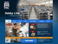 Servizi e logistica per abbigliamento Treviso - Debbyline